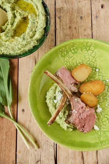 Rezept Orientalische Lammkrone für Ostern