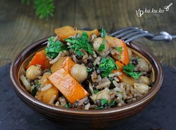 Rezept Orientalische Reispfanne