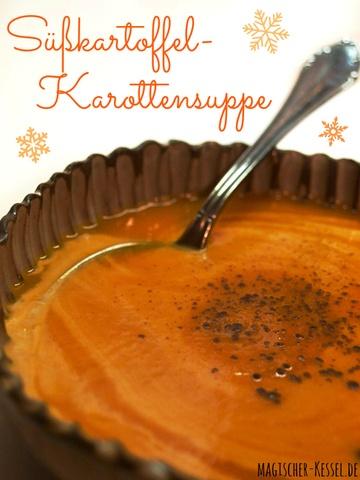 Rezept Orientalische Süßkartoffel-Karottensuppe