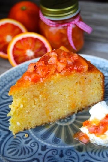 Rezept Orientalischer Orangenkuchen