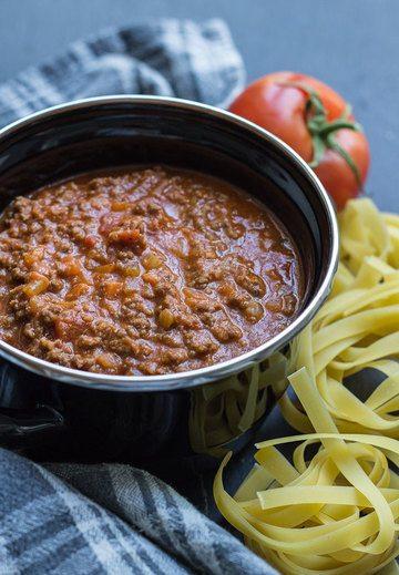 Rezept Originalrezept für Ragù Classico Bolognese
