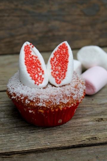 Rezept Osterhasen-Muffins
