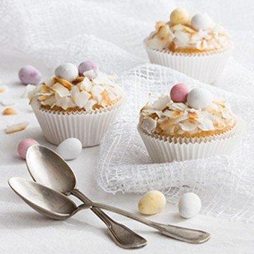 Rezept Osterliche Zitronencupcakes