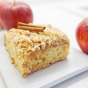 Rezept Österreichischer Apfel-Streuselkuchen Rezept