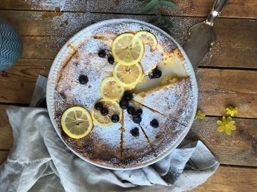 Rezept Ostkaka: schwedischer Käsekuchen