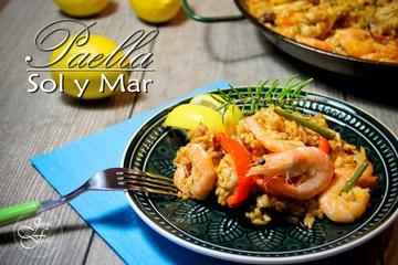 Rezept Paella - sol y mar