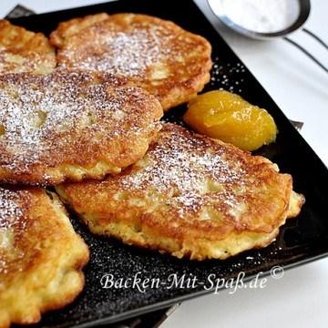 Rezept Pancakes mit Äpfeln