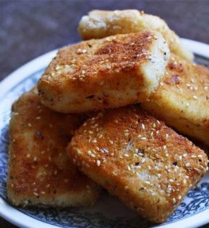Rezept Panierter Tofu ohne Ei