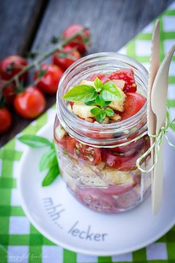 Rezept Panzanella - Knuspriger Tomaten Brotsalat