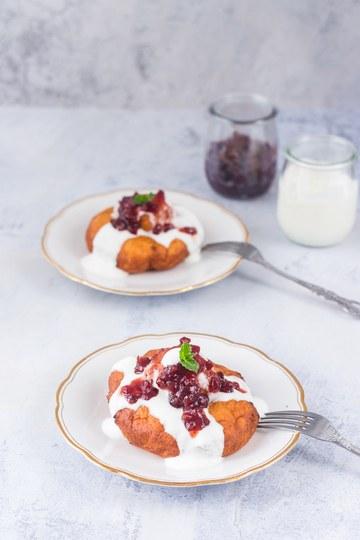 Rezept Papanasi – rumänische Doughnuts