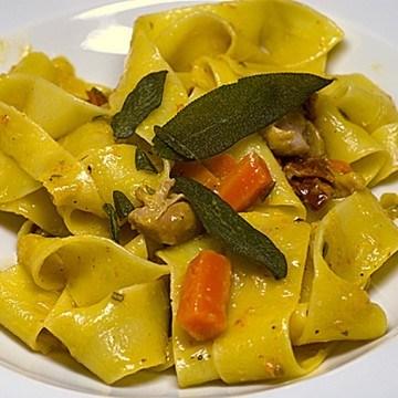 Rezept Pappardelle mit Kaninchenragù