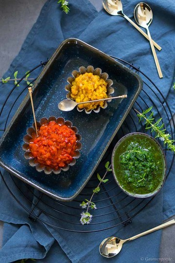 Rezept Paprika-Antipasti mit Zitronenöl