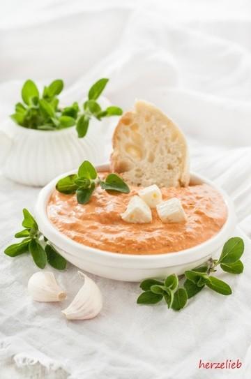 Rezept Paprika-Feta-Dip