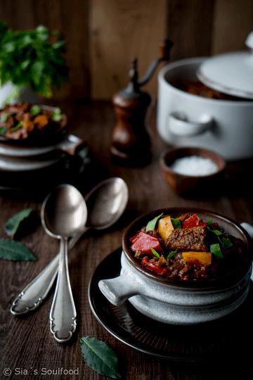 Rezept Paprika-Gulasch