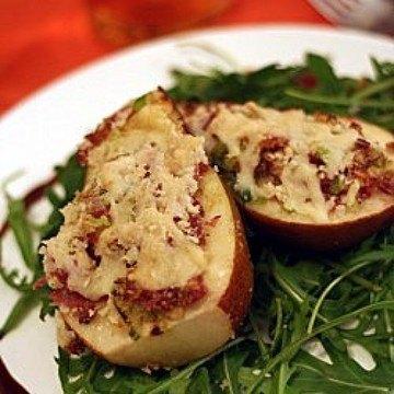 Rezept parmesan-birnen