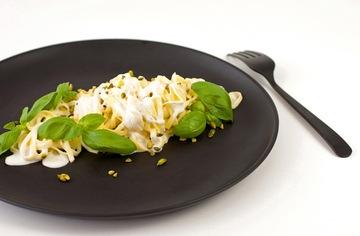 Rezept Pasta Al Limone mit Basilikum und Pistazien