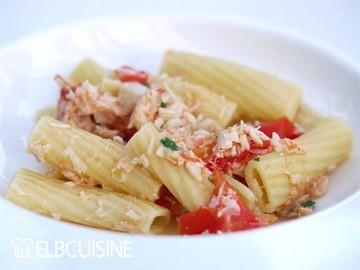 Rezept Pasta con pesce e pomodori – unser Lieblings-Familiengericht mit Fisch!
