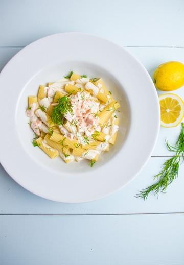 Rezept Pasta in Lachs-Sahne-Soße