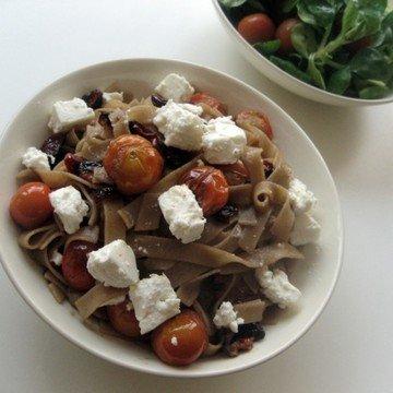 Rezept Pasta mit Balsamico-Tomaten