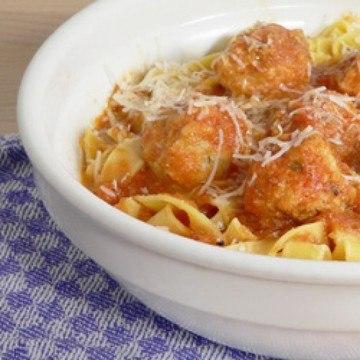 Rezept Pasta mit Fischbällchen