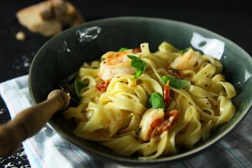 Rezept Pasta mit Garnelen