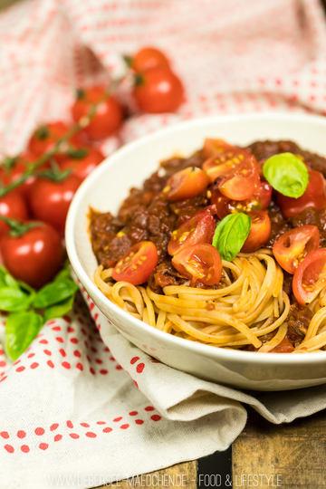 Rezept Pasta mit liebster Tomatensauce