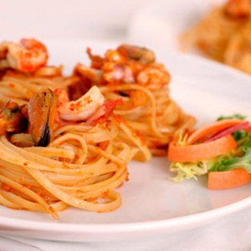Rezept Pasta mit Meeresfrüchten