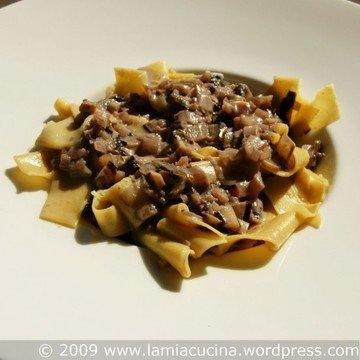 Rezept Pasta mit Radicchio-Gorgonzolasauce