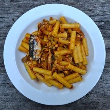 Rezept Pasta mit Sardinen & Fenchel