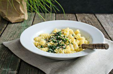Rezept Pasta mit Spinat