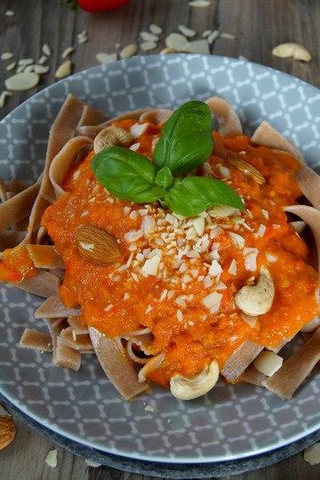 Rezept Pasta mit Tomatensauce