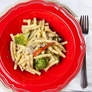 Rezept Pasta mit Zwiebel und Sardinensauce