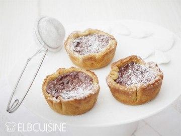 Rezept Pastéis de nata negro oder einfach Schokopudding-Törtchen