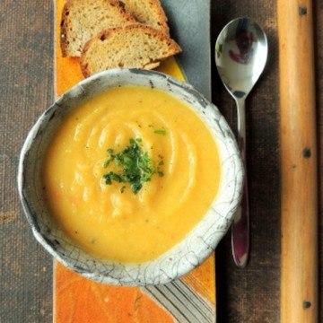 Rezept Pastinaken-Ingwer-Suppe