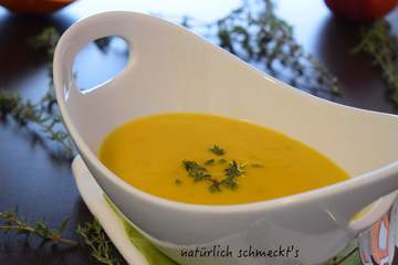 Rezept Pastinaken-Kürbis-Suppe mit Apfel