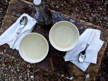 Rezept Pastinakensuppe mit Chai-Sirup