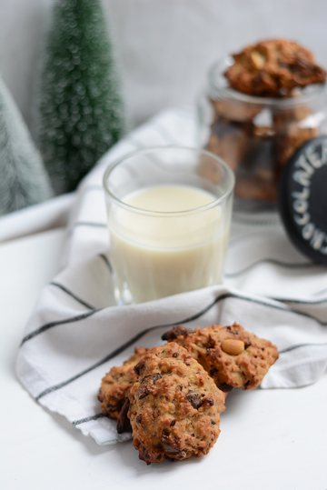 Rezept Peanut Butter Chocolate Chip Cookies