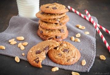 Rezept Peanutbutter Chocolatechip Cookies
