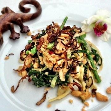 Rezept Pecelan - Balinesischer Gemüsesalat mit Erdnussdressing