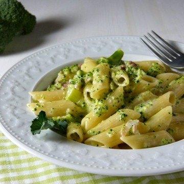 Rezept Penne con broccoli e panna