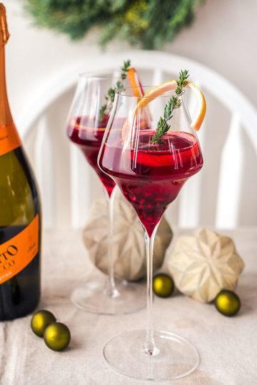 Rezept Peppery Pomegranate mit Mionetto