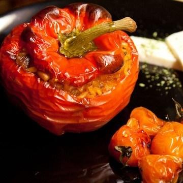 Rezept Peprika grfüllt
