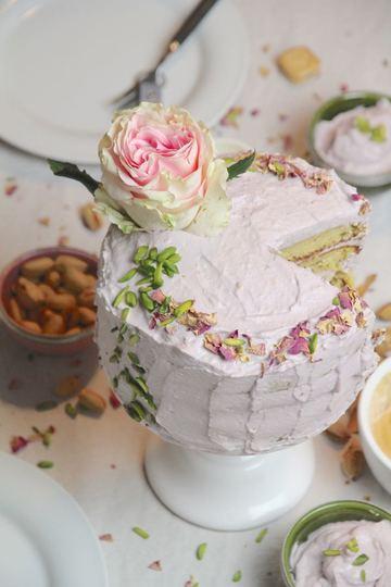 Rezept Persian Love Cake - glutenfreier persischer Liebeskuchen