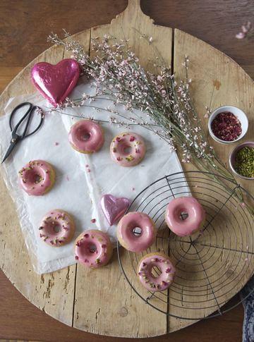 Rezept Persian Love Donuts zum Valentinstag