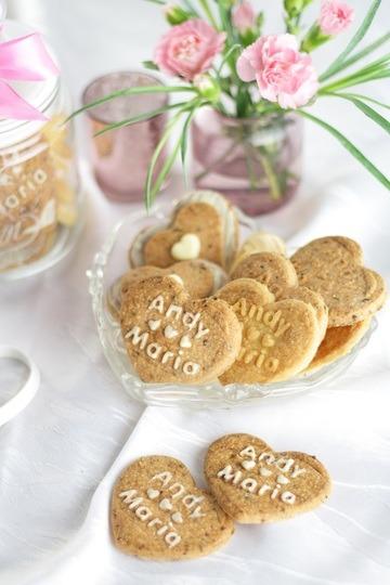 Rezept Personalisierte Geschenke aus der Küche & Erdbeer-Kekse zum Valentinstag
