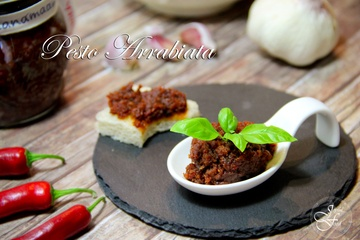 Rezept Pesto Arrabiata