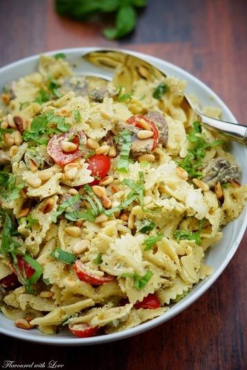 Rezept Pesto-Nudelsalat