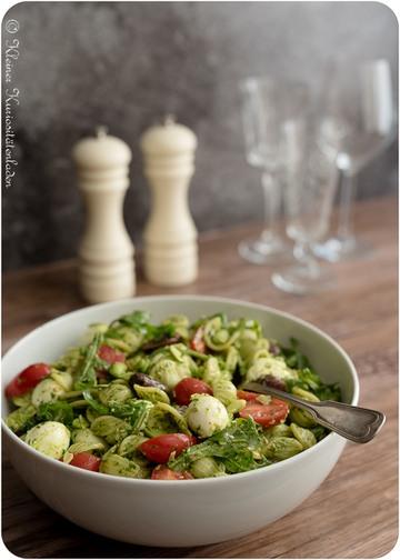 Rezept Pesto-Pasta-Salat