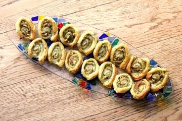 Rezept Pesto-Schnecken