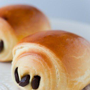 Rezept Petits pains au chocolat briochés